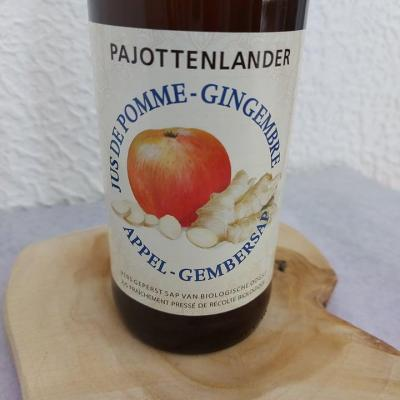 Jus pomme-gingembre