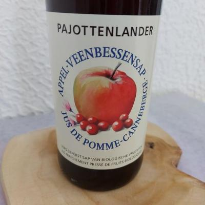 Jus pomme-canneberges