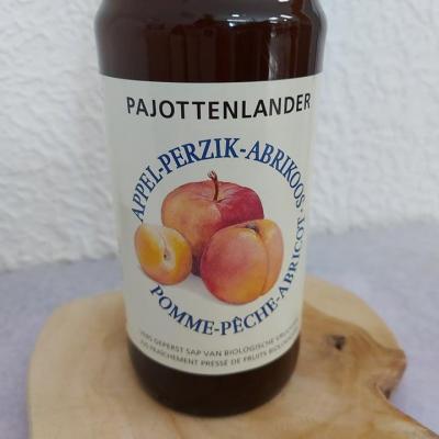 Jus pomme-pêche-abricot