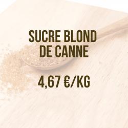 Sucre blond de canne