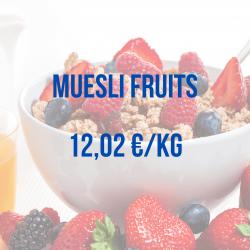 muesli fruits