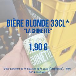 bière la lesse blonde