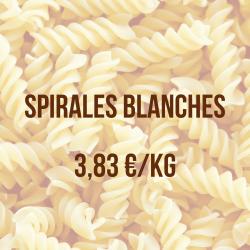 Spirales blanches