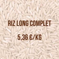 riz long complet