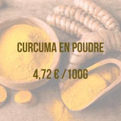 curcuma poudre